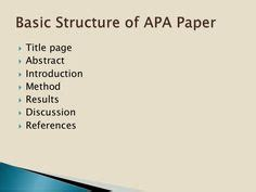 Research paper title page examples